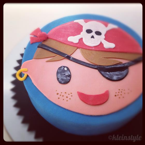 pirate cake Piraten kuchen torte kindergeburtstag kleinstyle's party