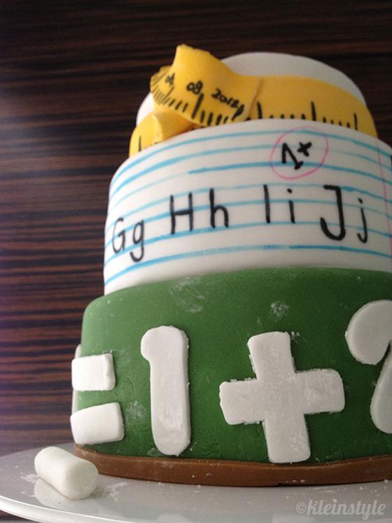 Schulanfang : gefeiert wird mit Zucker!