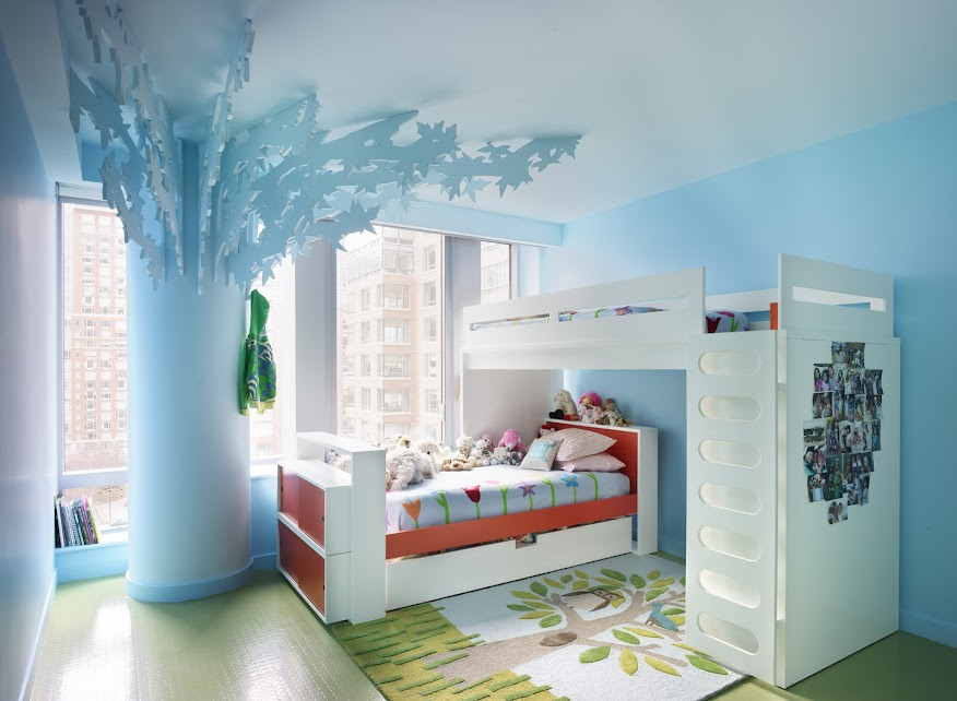 Incorporated NY Bohemian Apartment Girls Bedroom