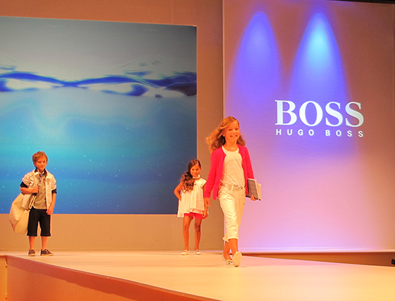 Luna Kid's Fashion Show : Messe Highlight