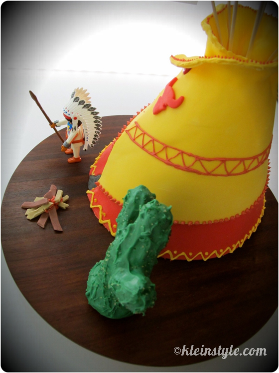 Tipi Cake made by kleinstyle