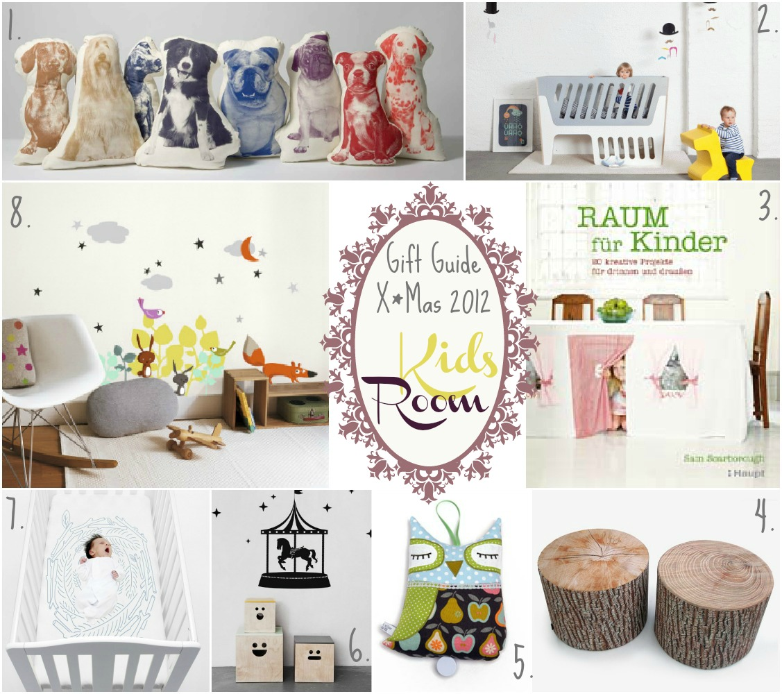 Gift Guide X*Mas 2012 : Kids Room