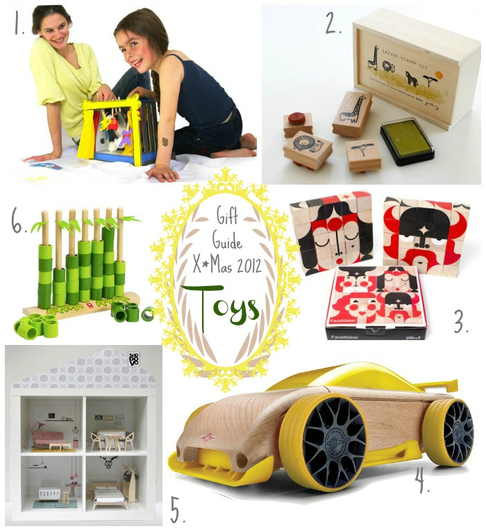 Gift Guide X*Mas 2012 : Kids Toys