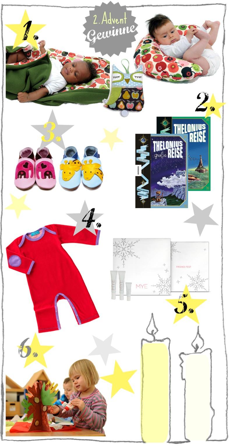 kleinstyles adventszeit 2012 gewinne 2. advent