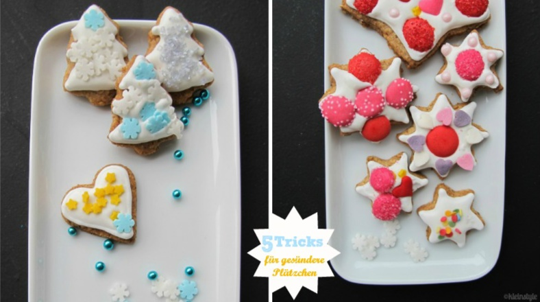 Christmas Cookies : simple tricks for a healthier version!