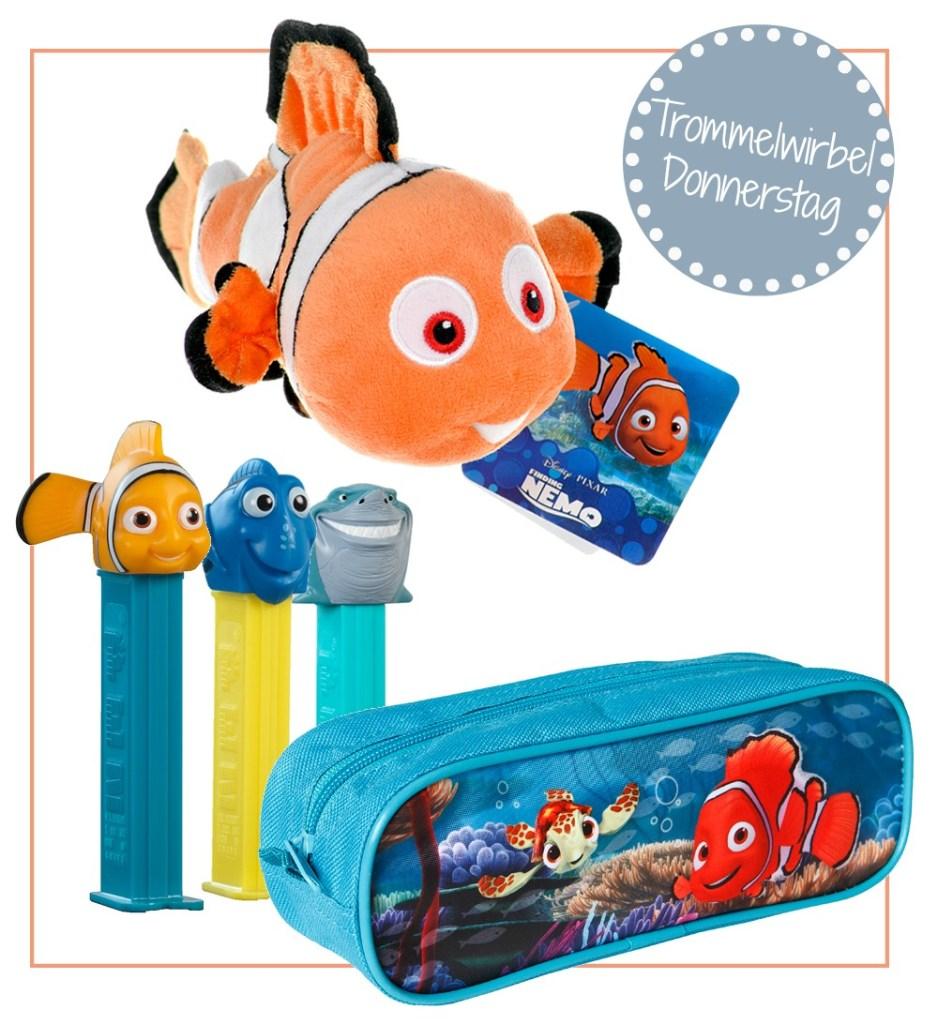 Findet Nemo Gewinnspiel Trommelwirbel Donnerstag auf kleinstyle.com