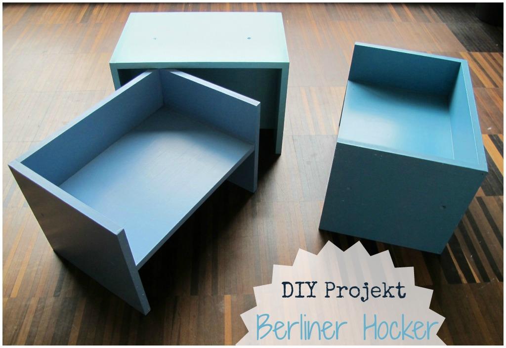 (Deutsch) kleinstyle's DIY Projekt : Berliner Hocker