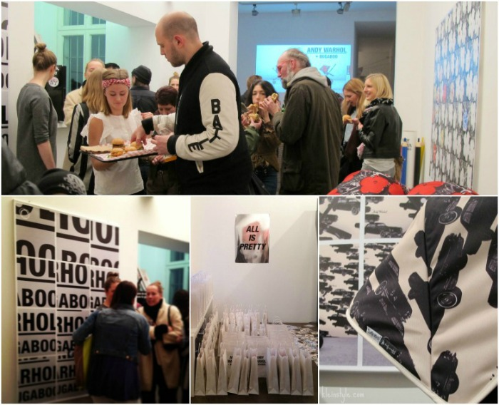 bugaboo x Andy Wahrhol Vernissage in Berlin Galerie deschler by kleinstyle