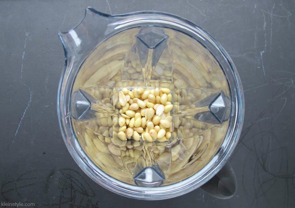 mandelmus herstellung mit vitamix standmixer by kleinstyle