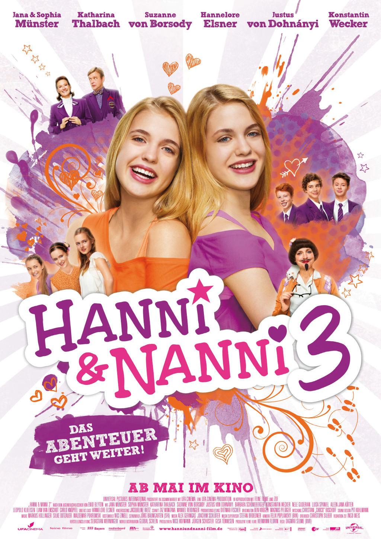 Hanni und Nanni 3 Kino Film Plakat