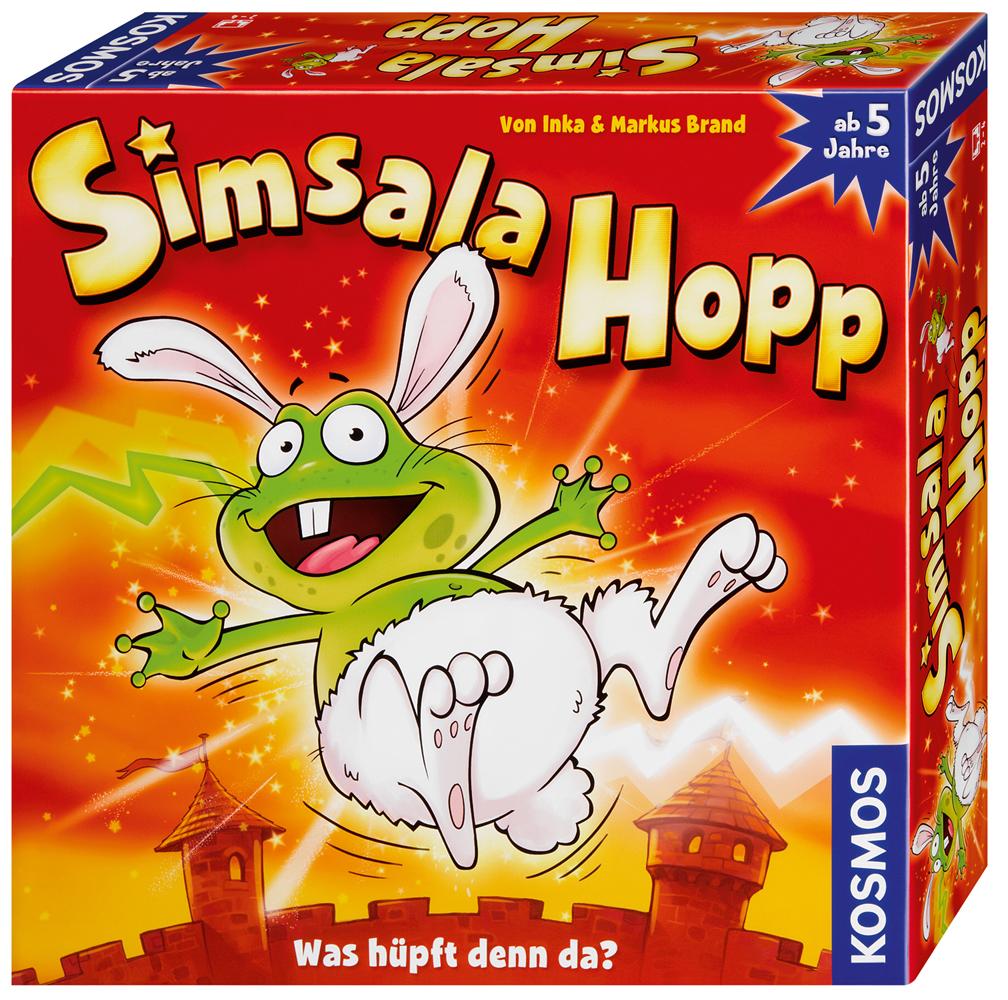 Kosmos Simsala Hopp Kinderspiel Familienspiel