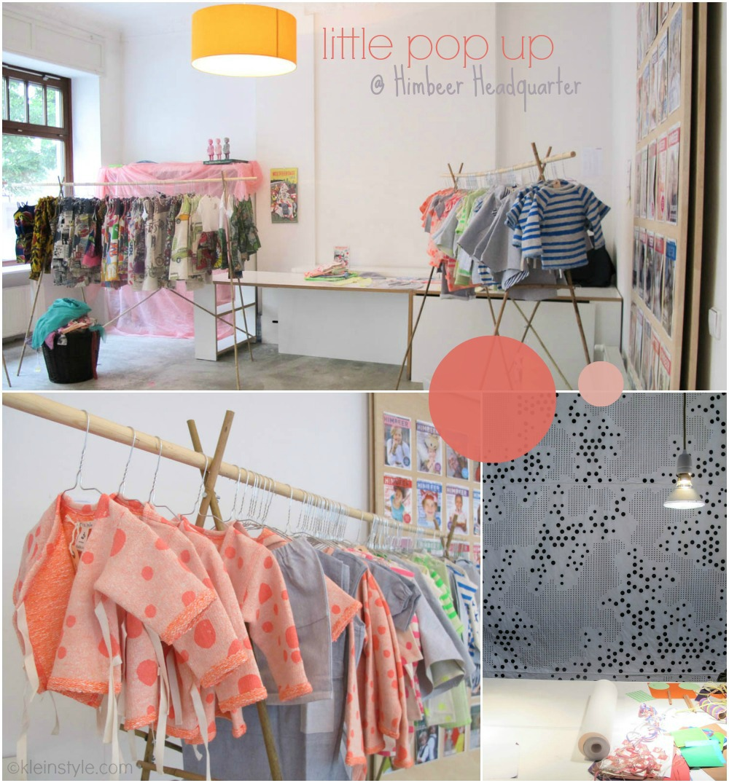 littlePOPup : im Himbeer Magazin Hauptquartier