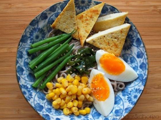 Food Friday : Cold Sesame Soba Noodles