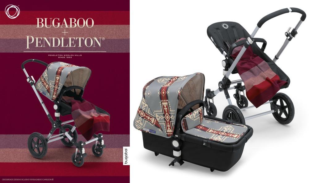 bugaboo Pendleton exclusive collection cameleon crossroads