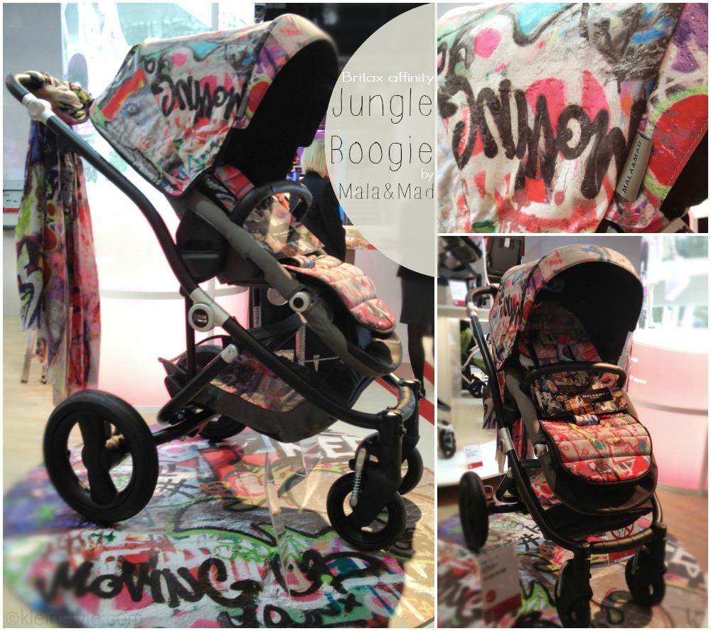 Streetstyle auf Rädern : Britax affinity Jungle Boogie