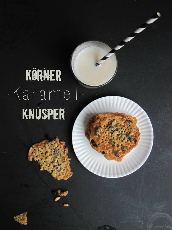 (Deutsch) Food Friday : Körner-Karamell-Knusper {für Mäkelmäuler}