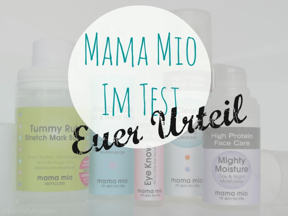 Ihr habt geturteilt! : Mama Mio im Test