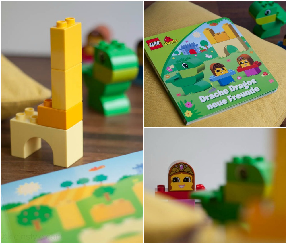 lego bau und lese set Erfahrung Collage 02 by kleinstyle.com