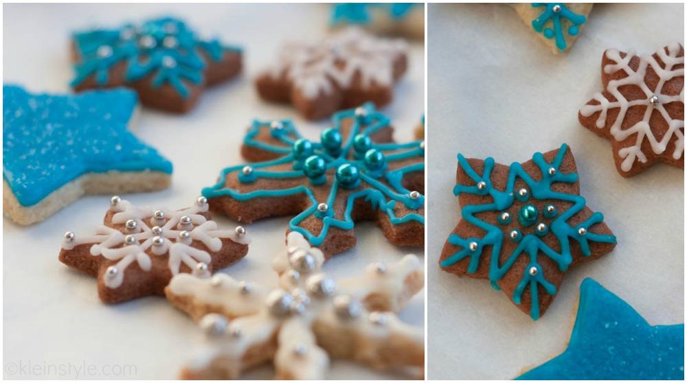 xmas vegan snowflake cookies by kleinstyle.com 03
