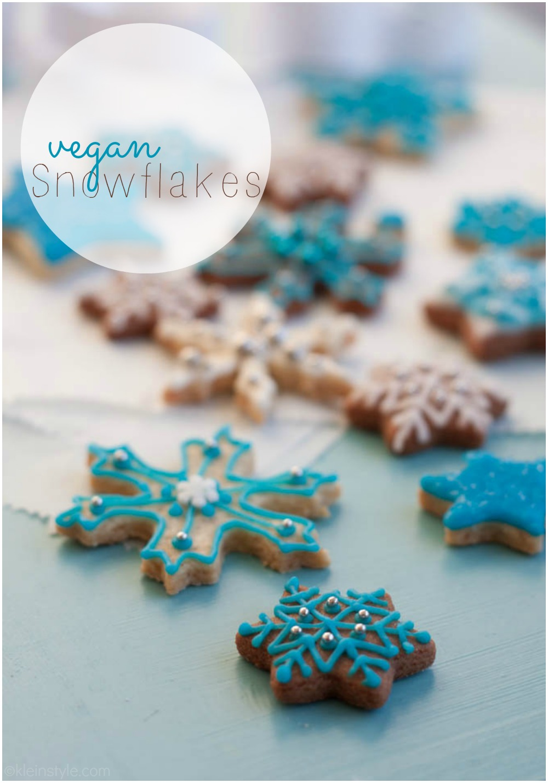 Food Friday : Weihnachts-Schneeflocken-Plätzchen *vegan*