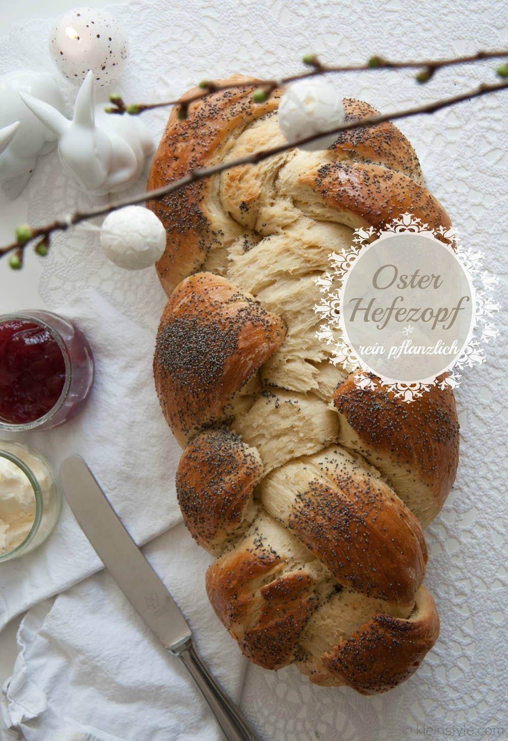 Food Friday : kein Ostern ohne Hefezopf!
