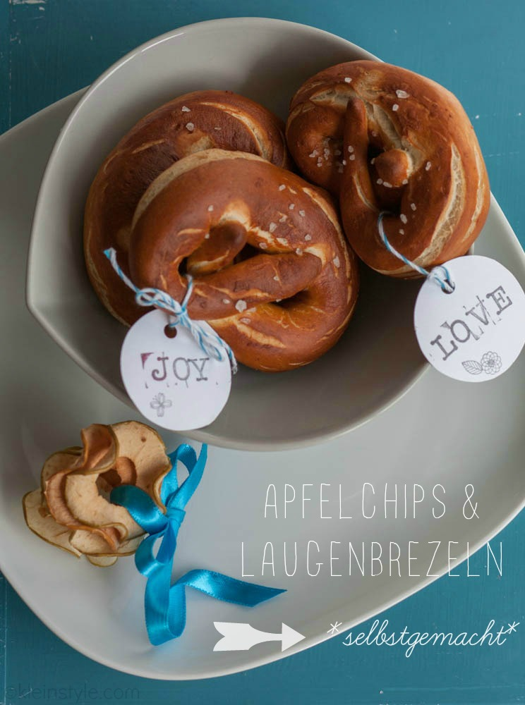 Food Friday : Apfelchips und Laugenbrezeln