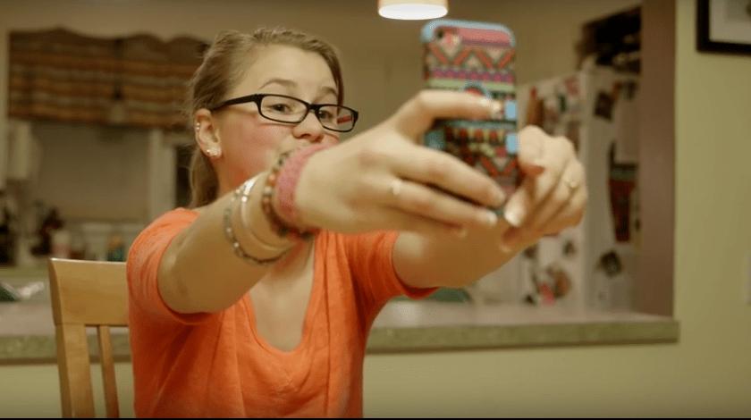 Selfie : Schönheit und Selbstbewusstsein