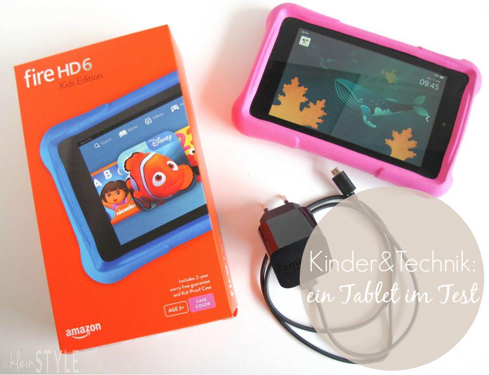 Kinder & Technik : ein Tablet für die Kleinen