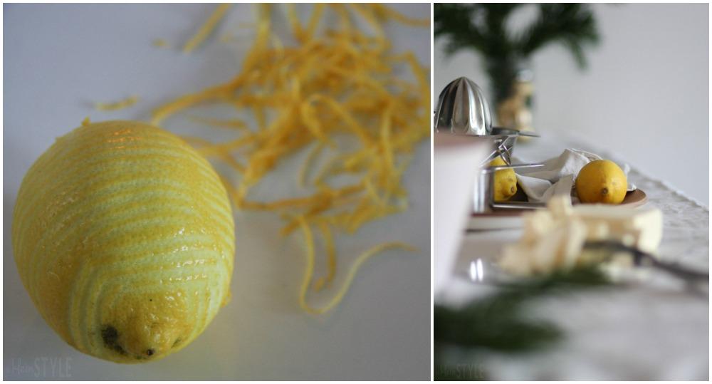 rein pflanzliche Zitronenkekse Rezept aus Mein veganer Adventskalender von Franzi Schaedel Kosmos Verlag by ©kleinstyle.com for BYW project Collage 04