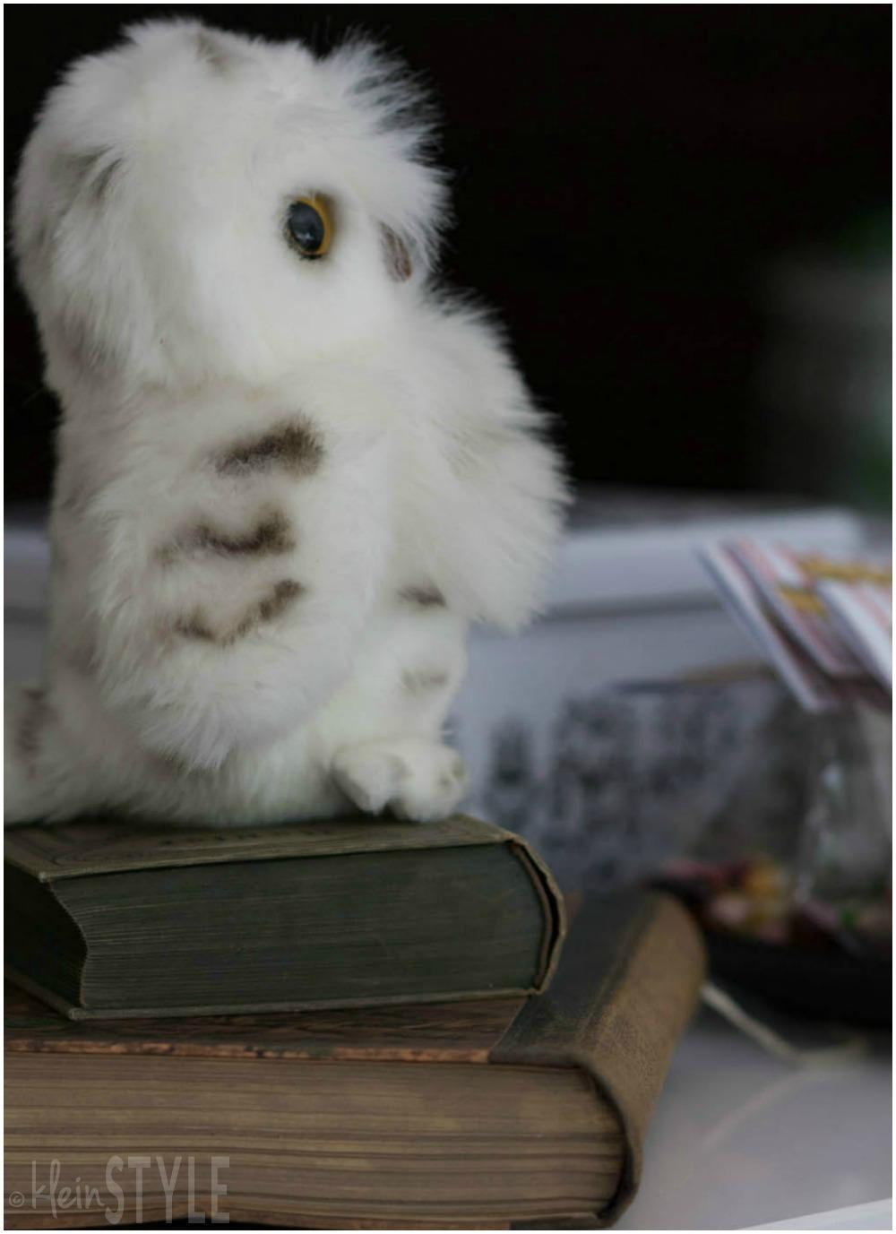 Harry Potter kids Party plush owl decoration ©kleinstyle.com