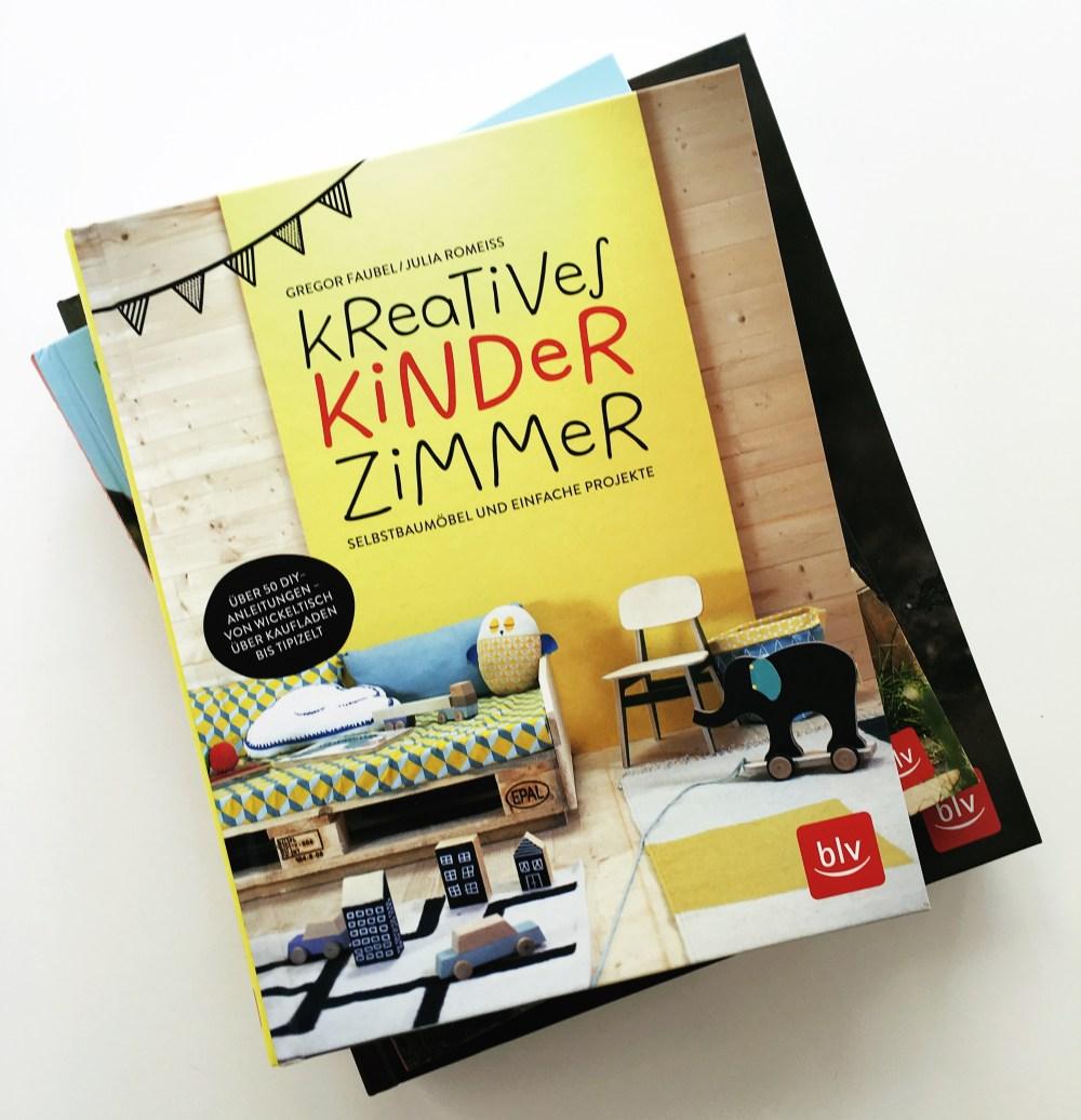 KReatives Kinderzimmer von Gregor Faubel und Julia Romeiss aus dem blv Verlag Rezension auf kleinstyle.com - cover