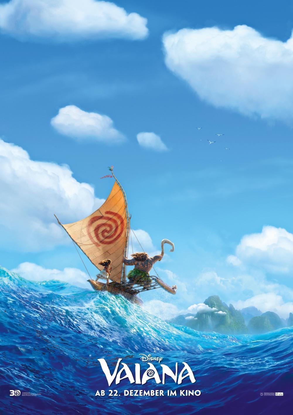 VAIANA TEASER Plakat Disney