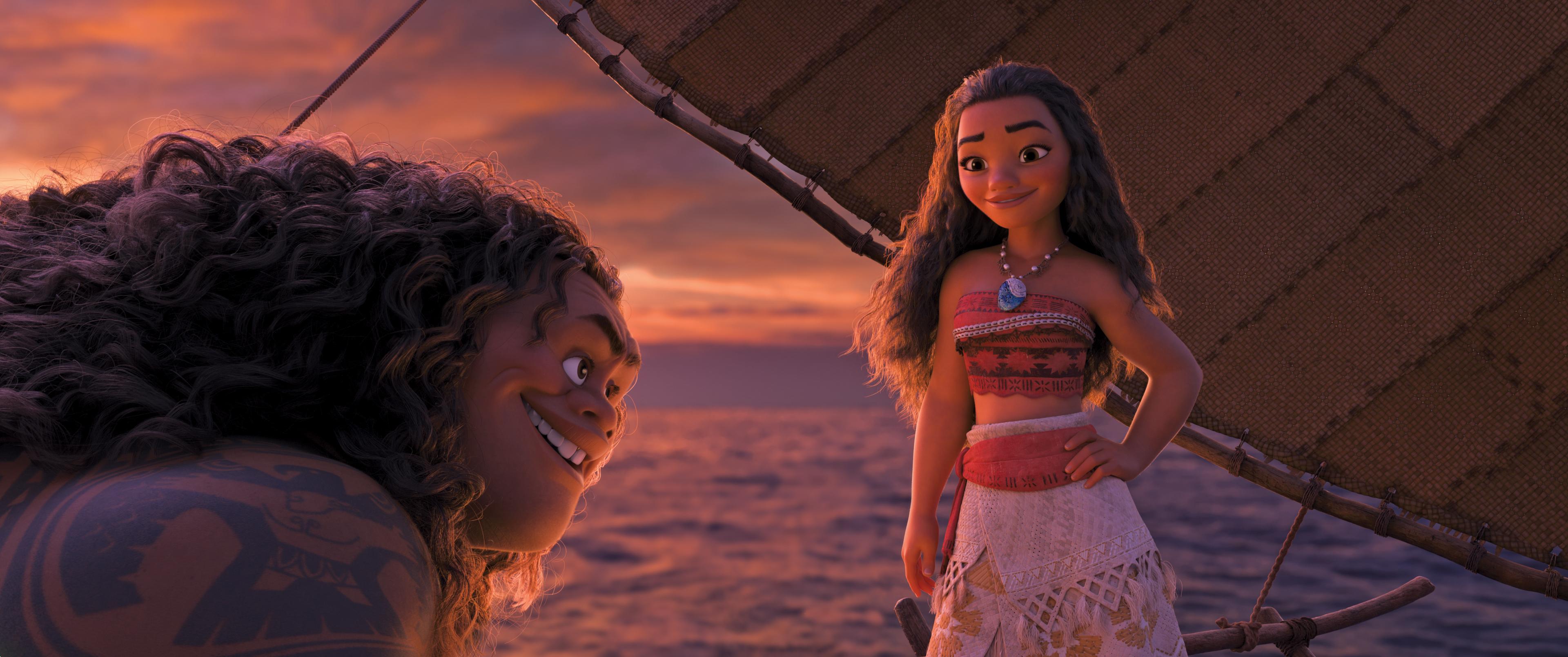 Polynesische Mythen in ihrer schönsten Form : Disney's Vaiana