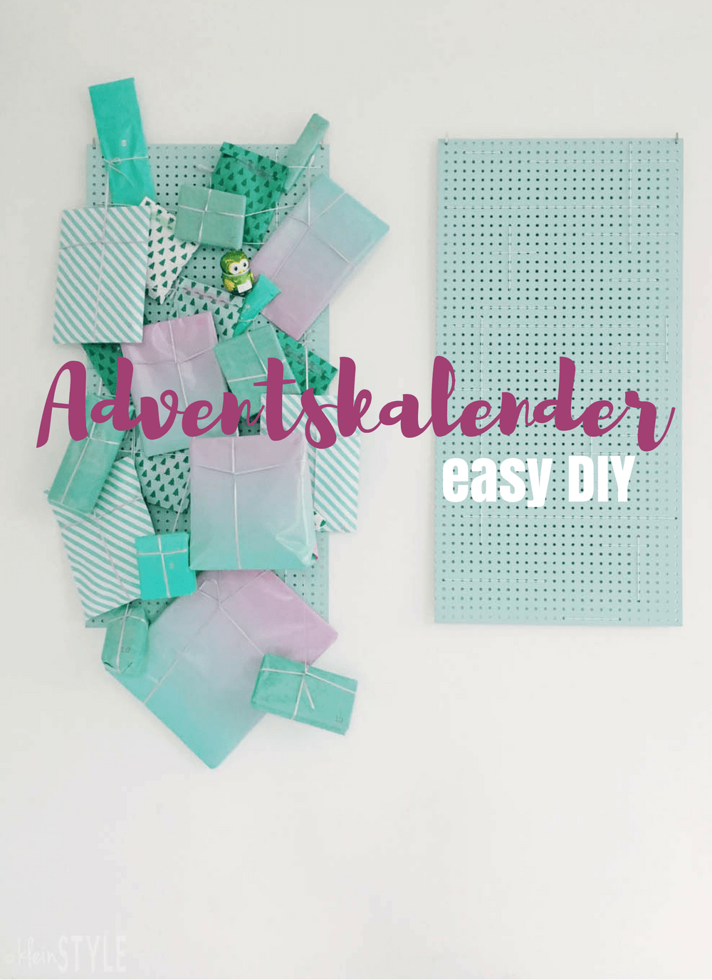 Adventskalender : easy DIY