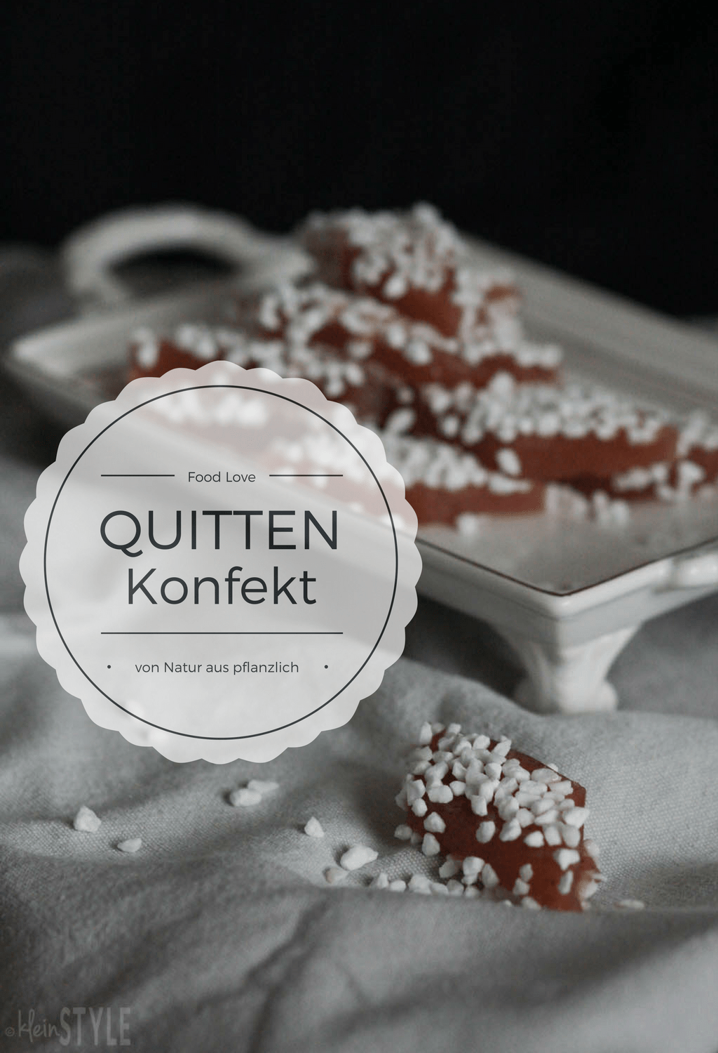Food Love Friday : Quittenkonfekt-Rauten
