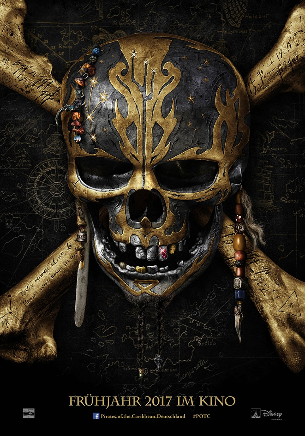 Disney Pirates of the Carribean Salzars Rache