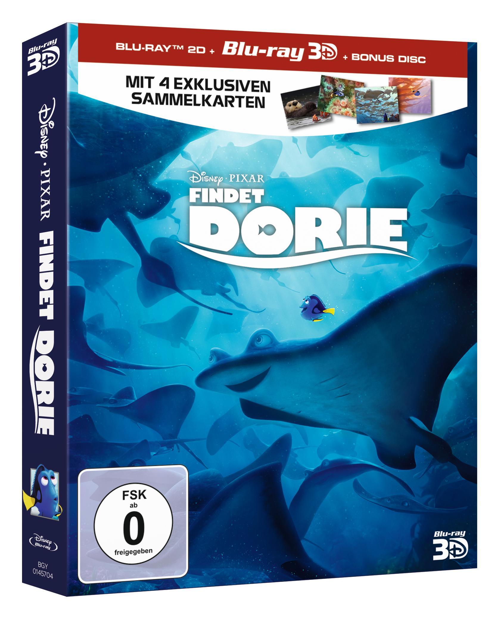Disney Pixar - Findet Dorie Blu-Ray 3D+2D
