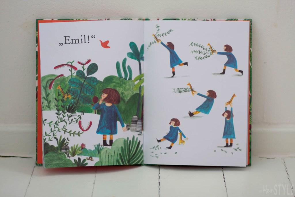 Tiger im Garten Kinder Bilderbuch Rezension by kleinstyle.com
