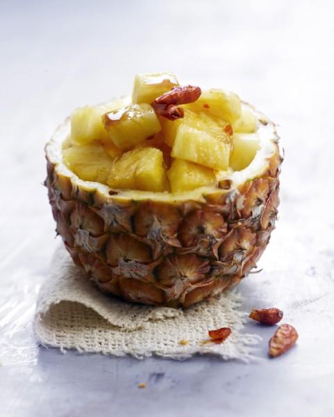 Ananas-Chili-Salat