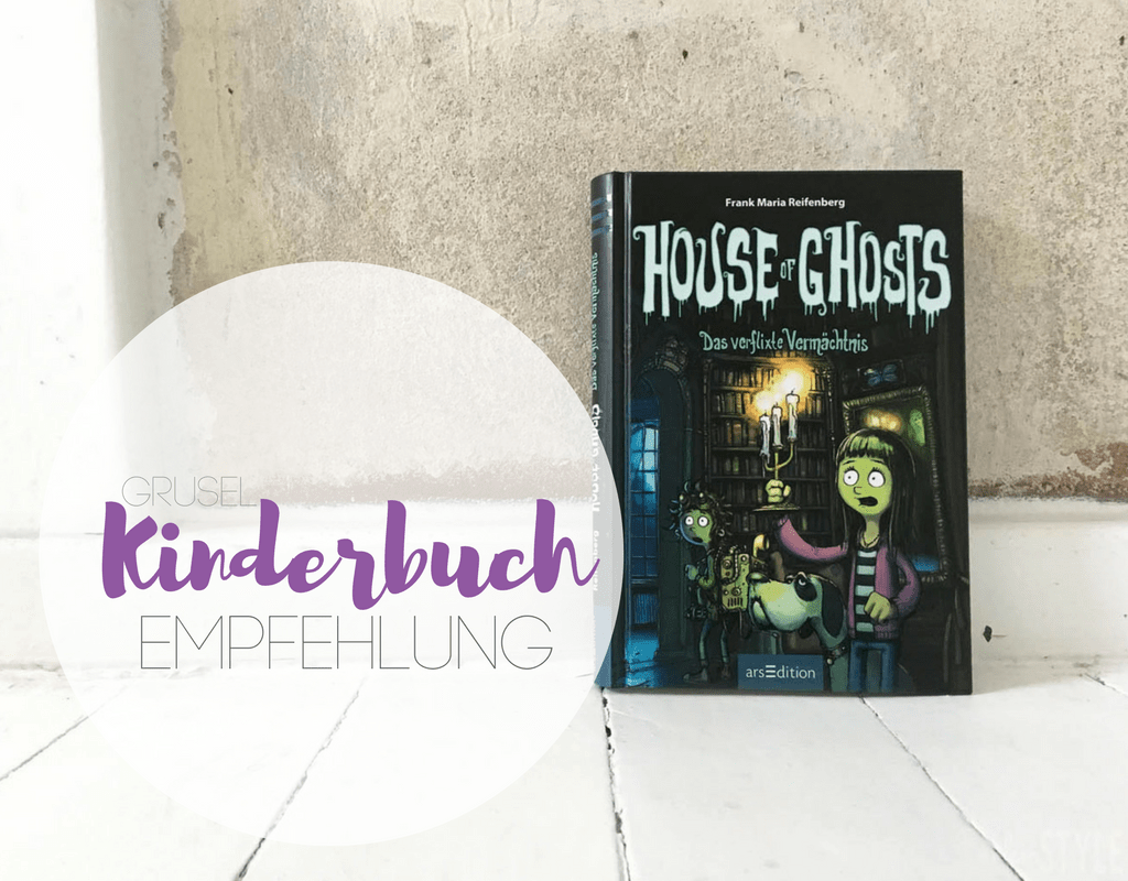 House of ghosts Kinderbuch arsEdition Rezension by kleinSTYLE