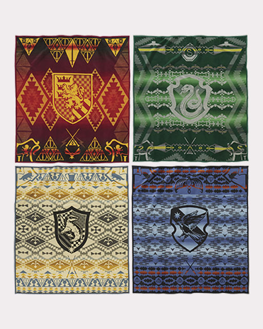 Harry Potter x Pendleton : Luxuriöse Decken im Hogwarts Look