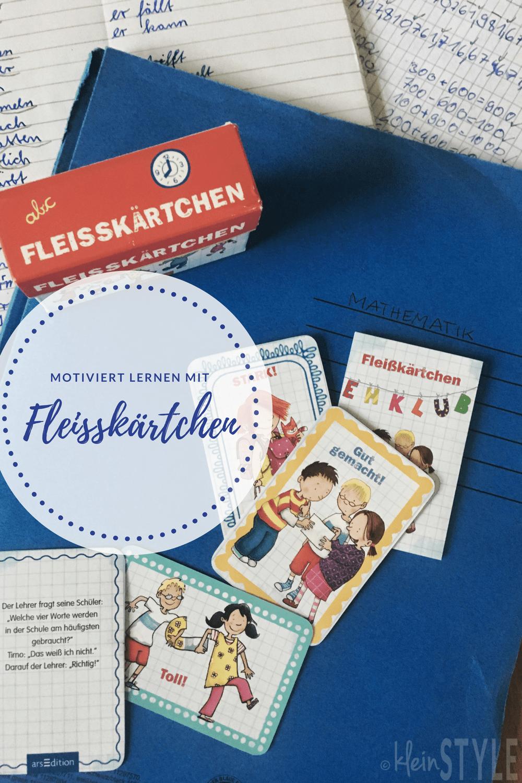(Deutsch) Schulkinder : mit Fleißkärtchen motiviert lernen