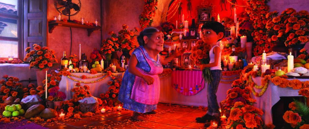 Disney Pixar Coco Animationsfilm zum Día de los Muertos