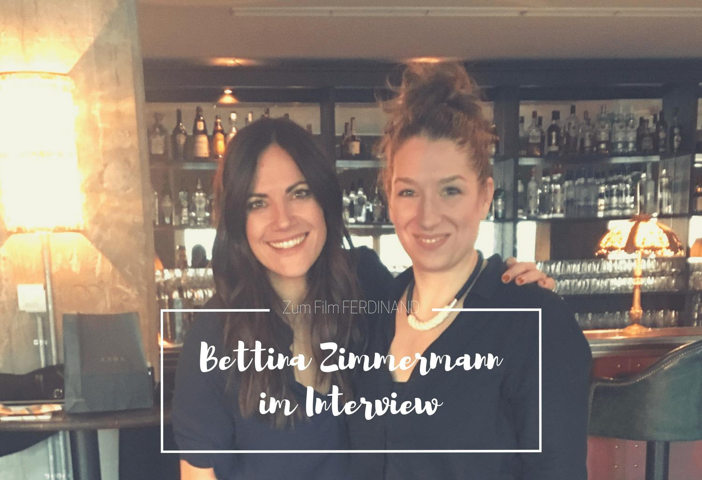 Zum Film FERDINAND : im Gespräch mit Bettina Zimmermann