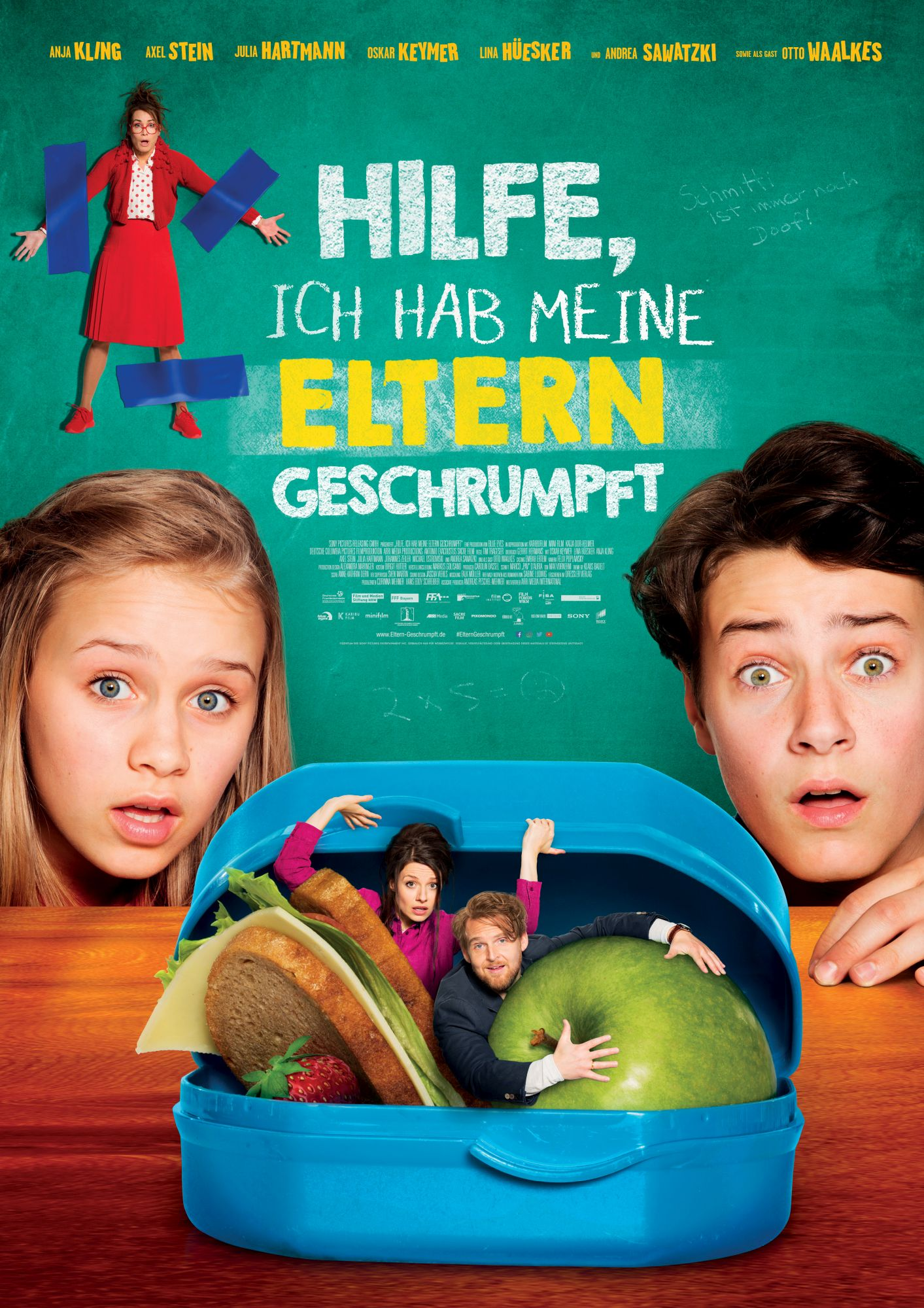 (Deutsch) Familienfilm mit Mini-Eltern : inklusive Verlosung zum Film