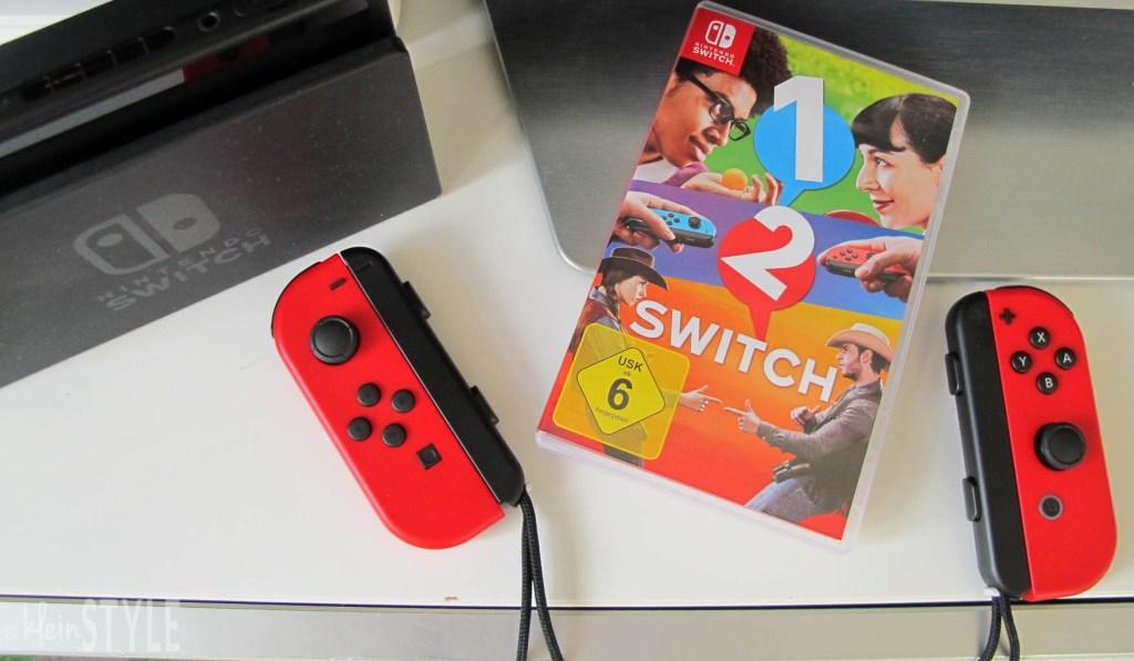 Nintendo Switch Partyspiel 1-2-Switch im Test Gewinnspiel by kleinSTYLE.com