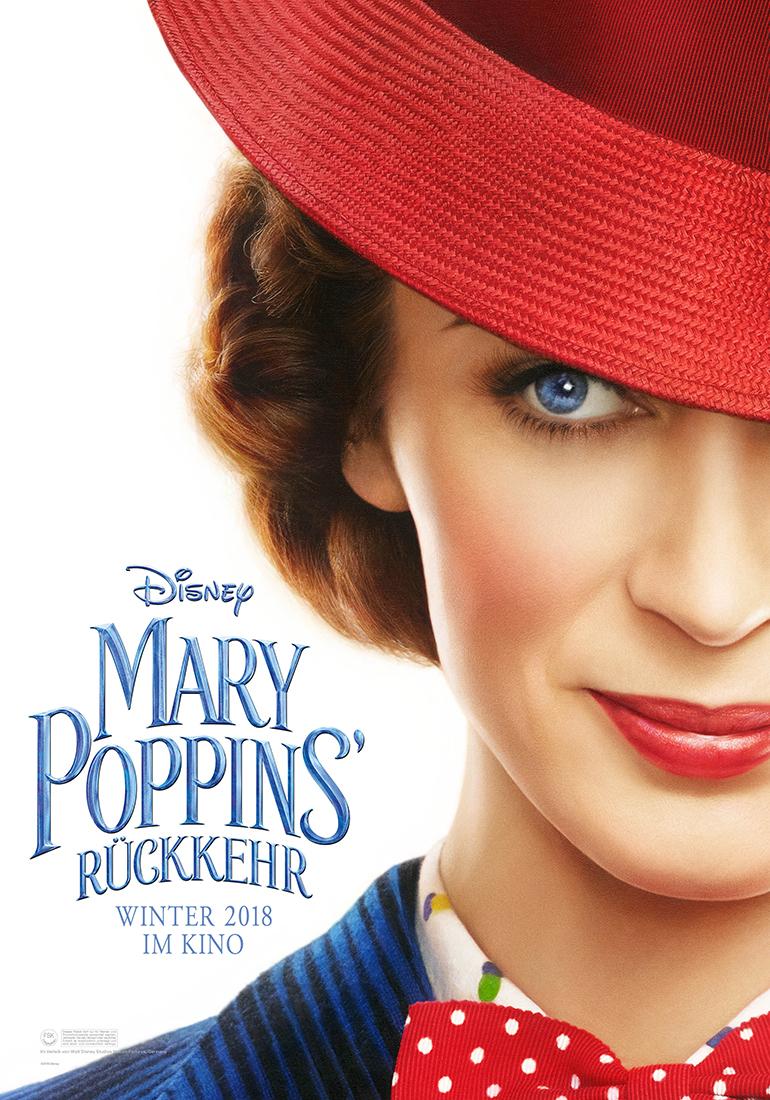 Disney - Pary Poppins' Rückkehr Filmplakat