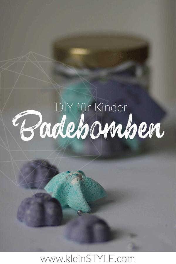 DIY Badebomben kleine Geschenke selbstgemacht Anleitung kleinSTYLE.com Cover