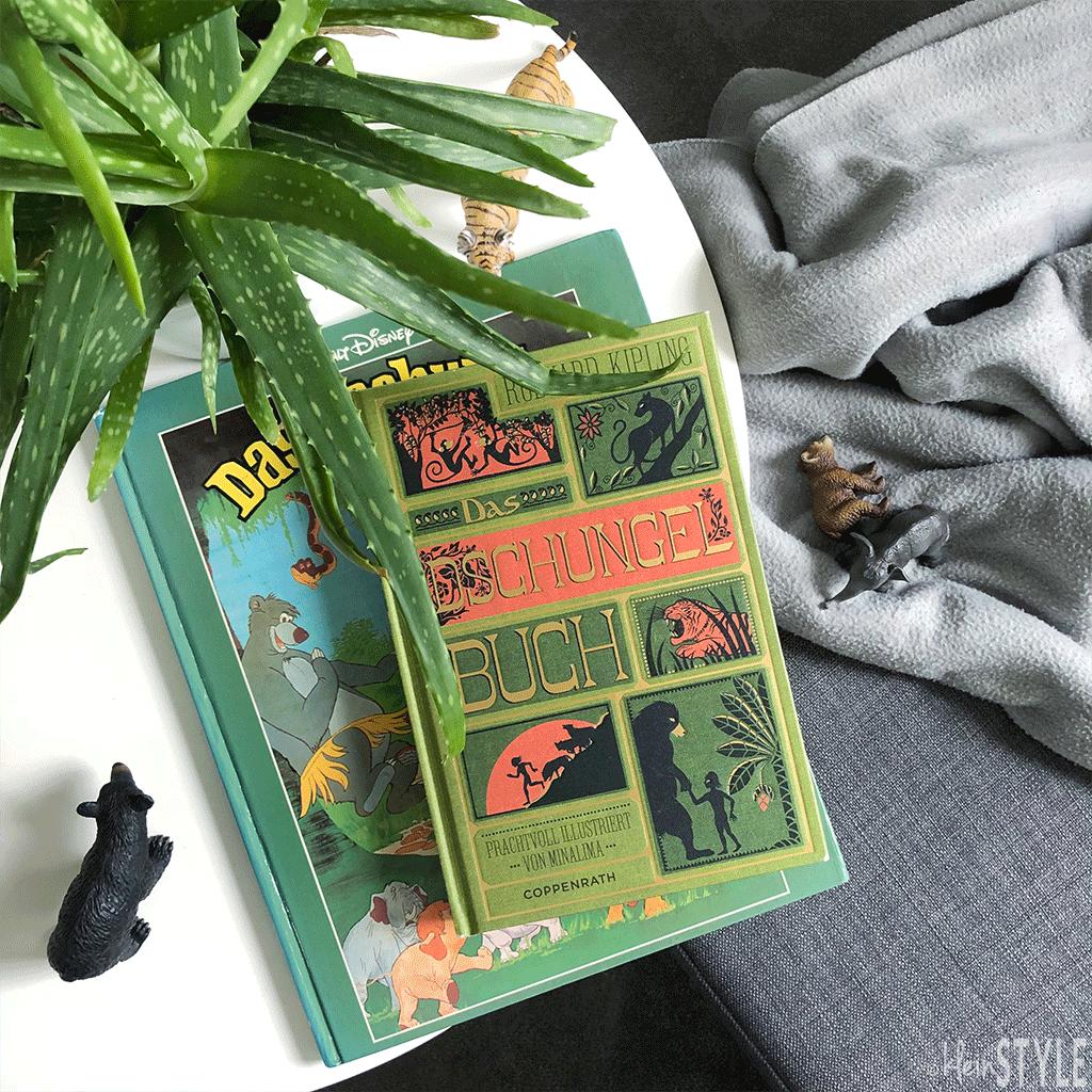 Dschungelbuch : von Bilderbüchern, Filmen, Geschichten und Schmuckbändern