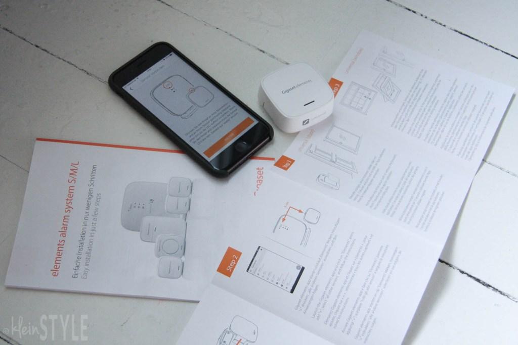Gigaset elements alarm system - Sicherheit im Test by kleinSTYLE Anleitung und App